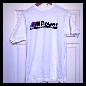 BMW M Power T-Shirt - Mobile Tradition Small